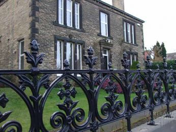 select from one of 5 elegant cast iron fence solutions and contact