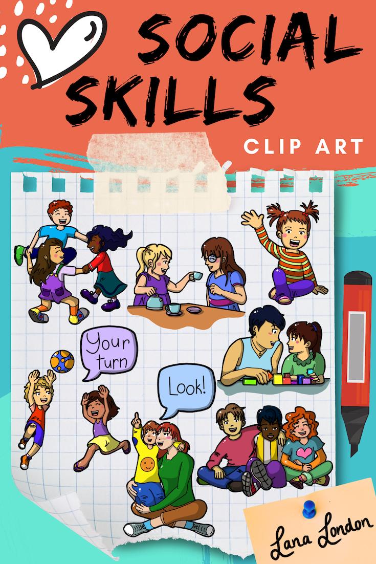Social Skills Stock Illustrations, Cliparts And Royalty