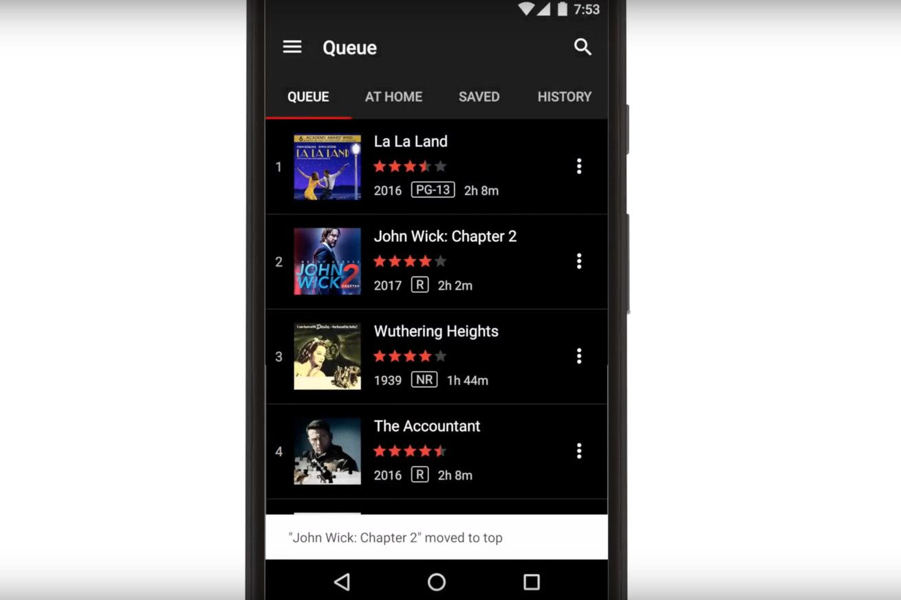 Netflix just released an Android app for managing your DVD