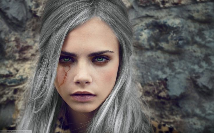 Cara Delevingne Cosplay Cirilla Fiona Elen Riannon The Witcher 3 Wild Hunt Photoshop Wallpapers Hd Des Cara Delevingne Cara Delevingne Style Beauty Face