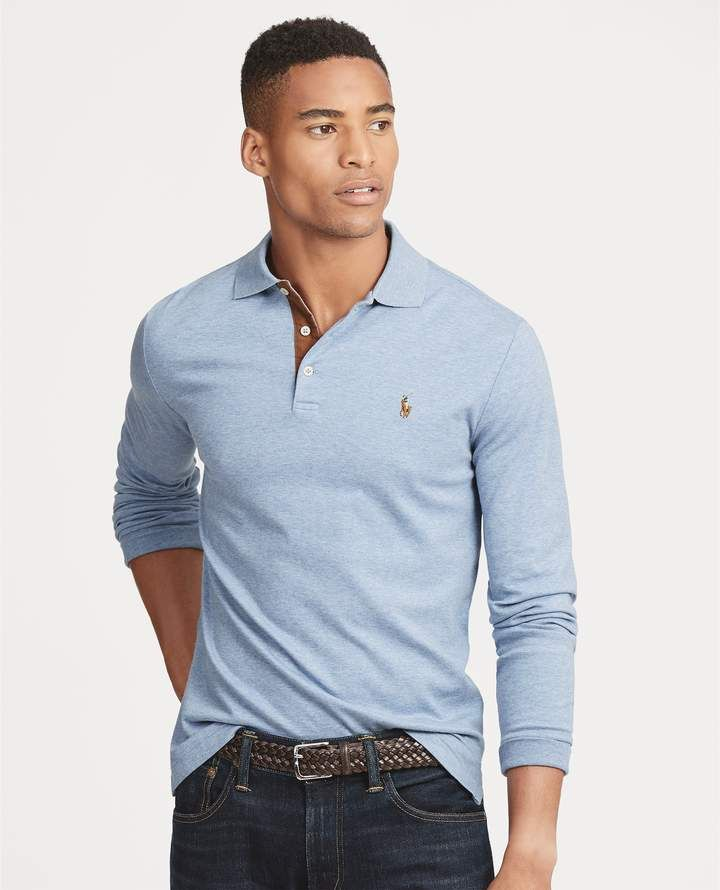 150fcf383caf Ralph Lauren Custom Slim Long-Sleeve Polo | Things to Wear in 2019 ...