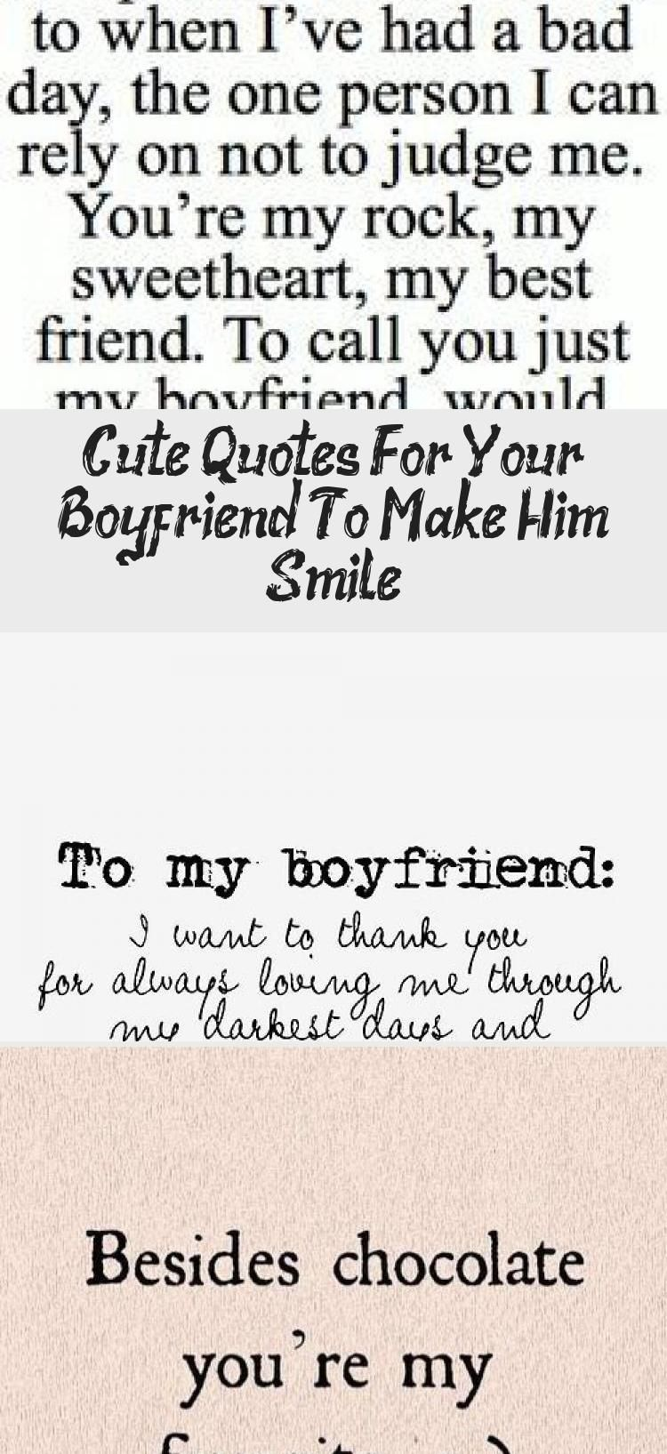 Cute Quotes For Your Boyfriend To Make Him Smile In 2020 Be