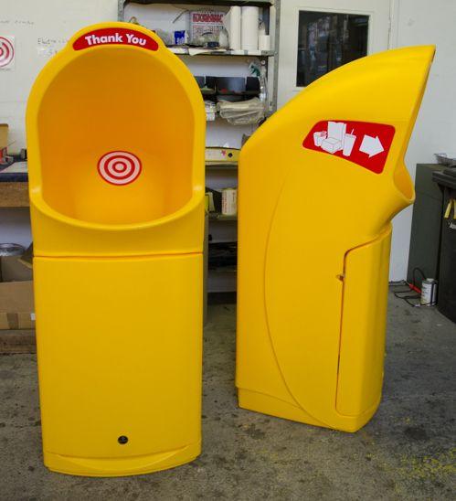 Combo Delta™ Large Aperture Litter Bin In 2020