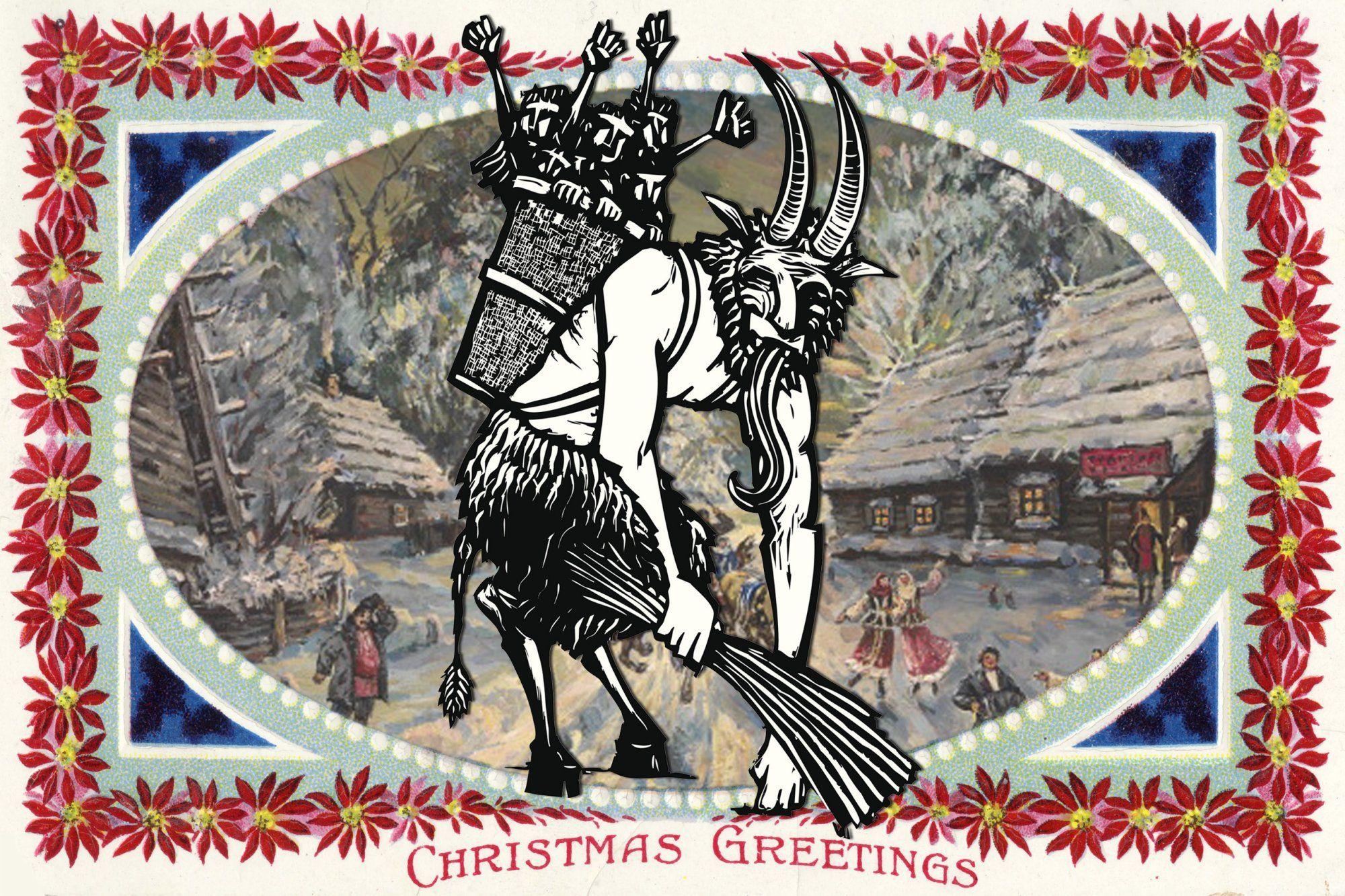 Ausmalbilder Nikolaus Krampus : Meet Krampus The Seriously Bad Santa