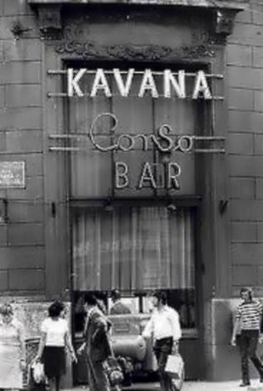 Zagreb 1970 Ilica Gunduliceva Kavana Corso Zagabria