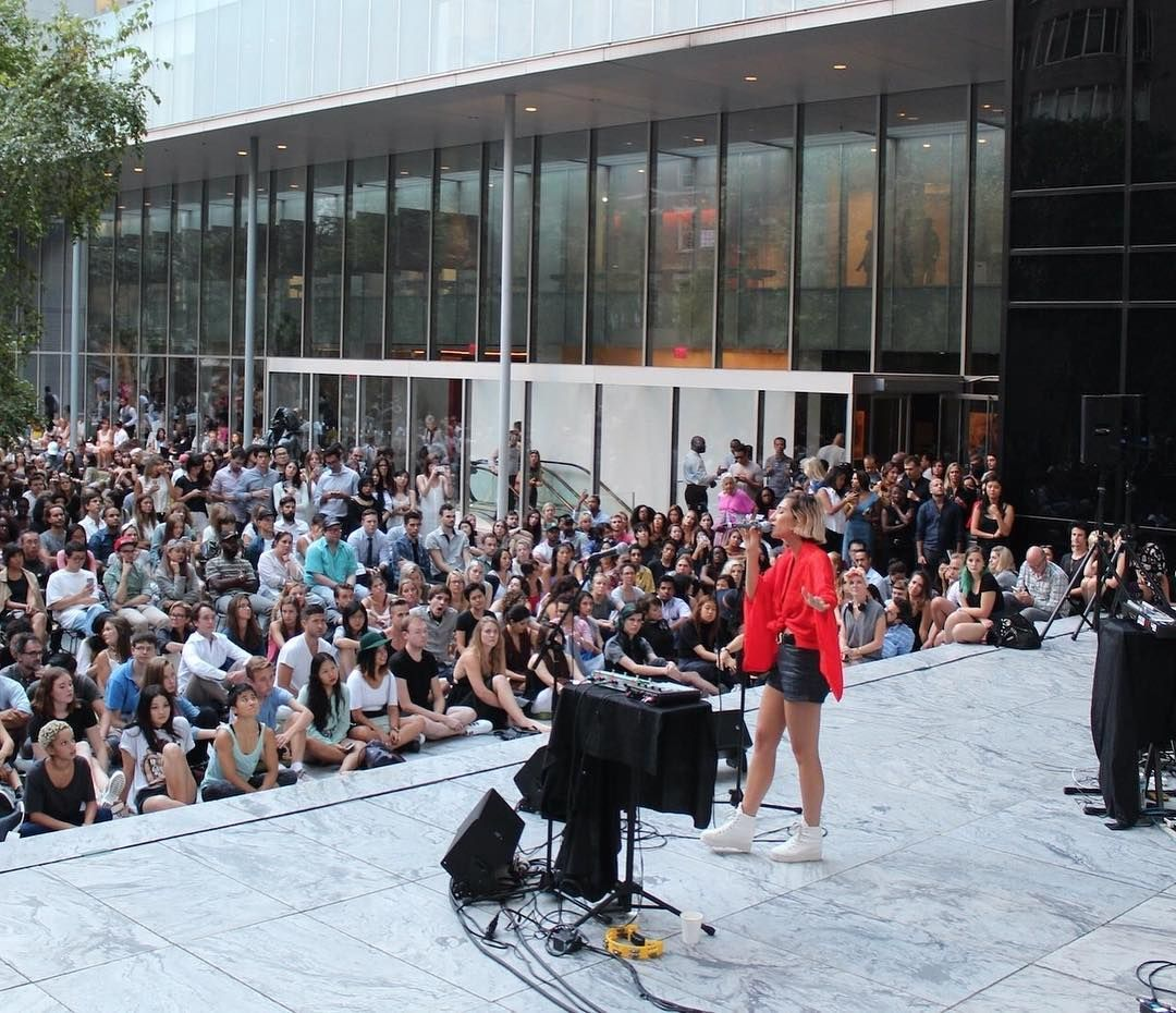 Summertime At Moma Means Momagarden Summer Music Series Lineup