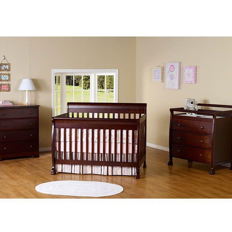 DaVinci 3 Piece Nursery Set - Kalani 4 in 1 Convertible ...