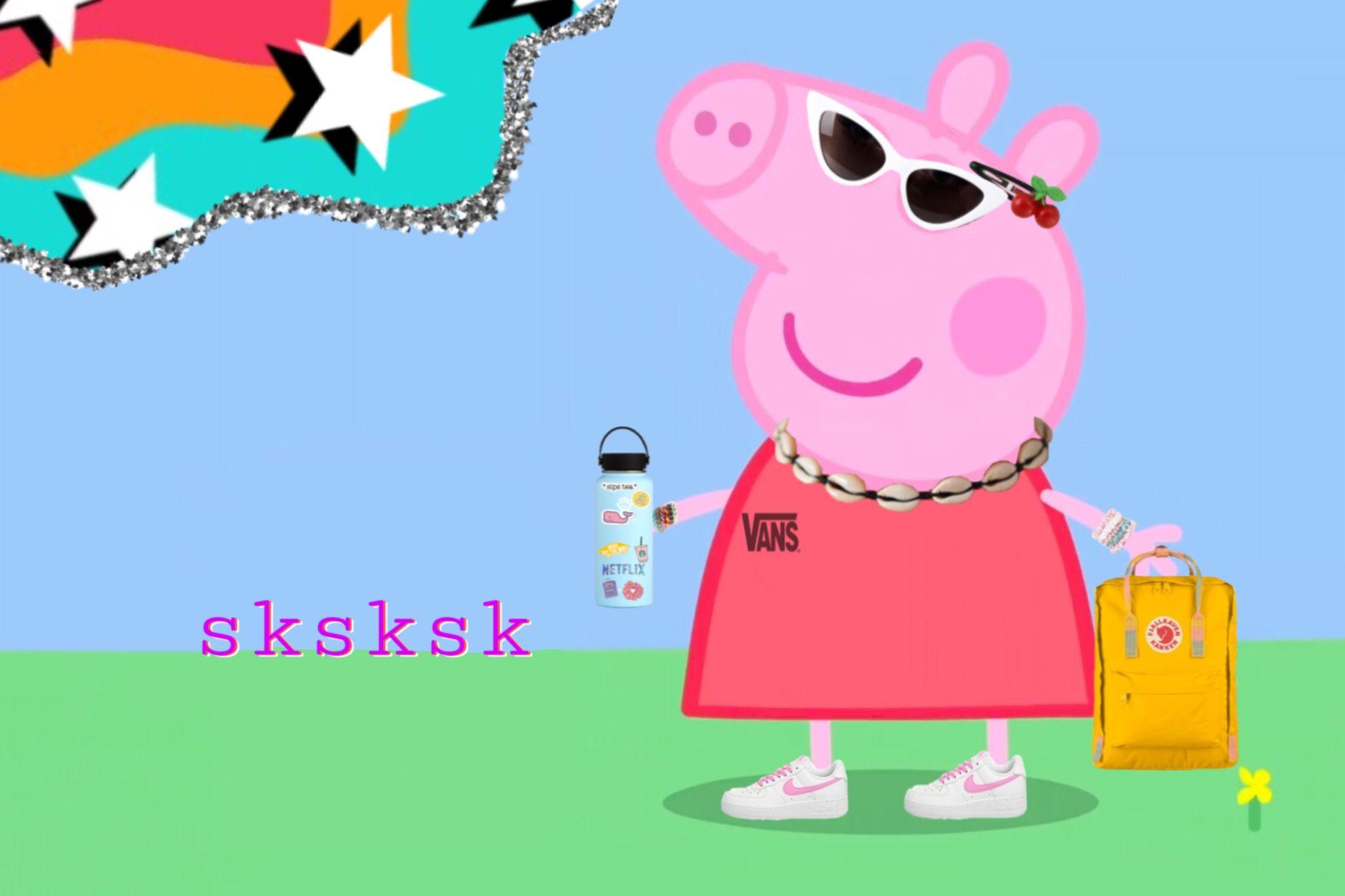 Peppa The Vsco Girl Peppa Pig Memes Pig Memes Peppa Pig