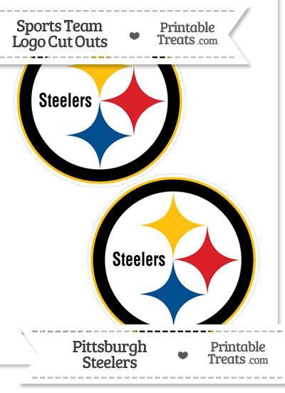 photo relating to Printable Steelers Logo known as Medium Pittsburgh Steelers Emblem Reduce Outs towards
