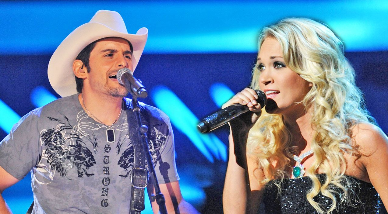 Country Music Lyrics - Quotes - Songs Carrie underwood - When Brad Paisley Took The Stage, Fans Were Not Expecting Carrie Underwood! (AMAZING!) - Youtube Music Videos http://countryrebel.com/blogs/videos/39684099-when-brad-paisley-took-the-stage-fans-were-not-expecting-carrie-underwood-amazing