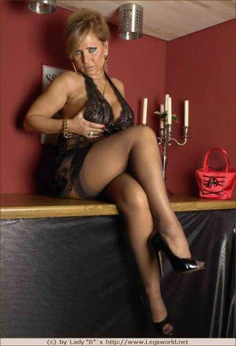 Nina moonlight with stockings from hot beauties 2 - 5 1