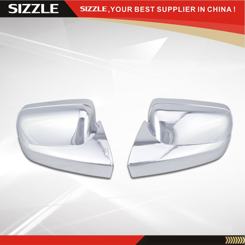 2005 2006 2007 2008 2009 Mustang Side Mirror Cover Full Abs Chrome Plated Trim Overlays Accessoreis For Ford