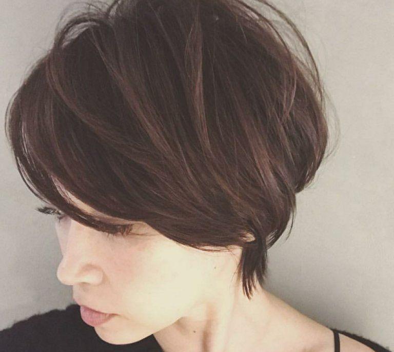 美容師解説 2019年 辺見えみりさんの髪型についてショートの