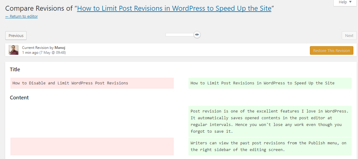 How to Disable or Limit Post Revisions in WordPress to Speed Up the Site 2