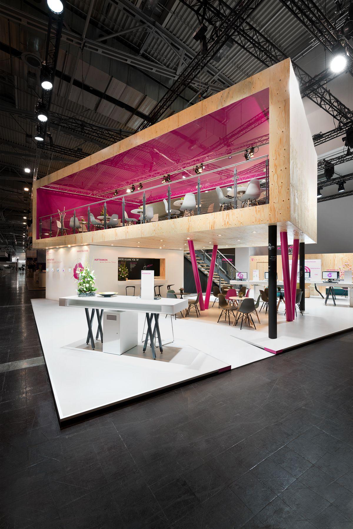 Exhibition Design Deutsche Telekom EWorld 2015 on