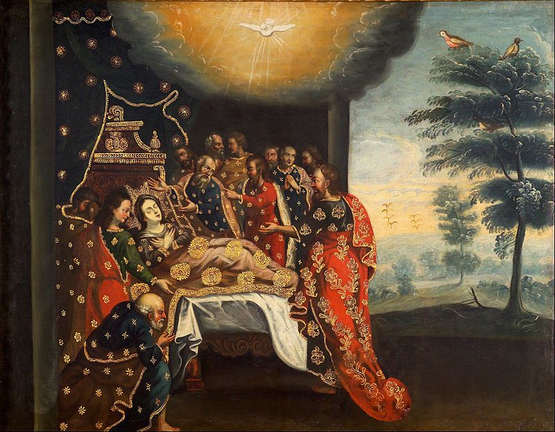 Anonymous Cusco School - Dormancy of the Virgin - Google Art Project - Peru – Wikipédia, a enciclopédia livre