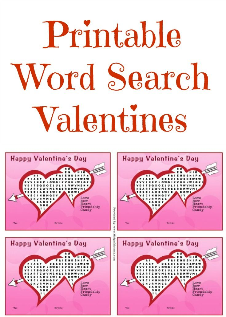 printable word search valentines if you are looking for a fun at
