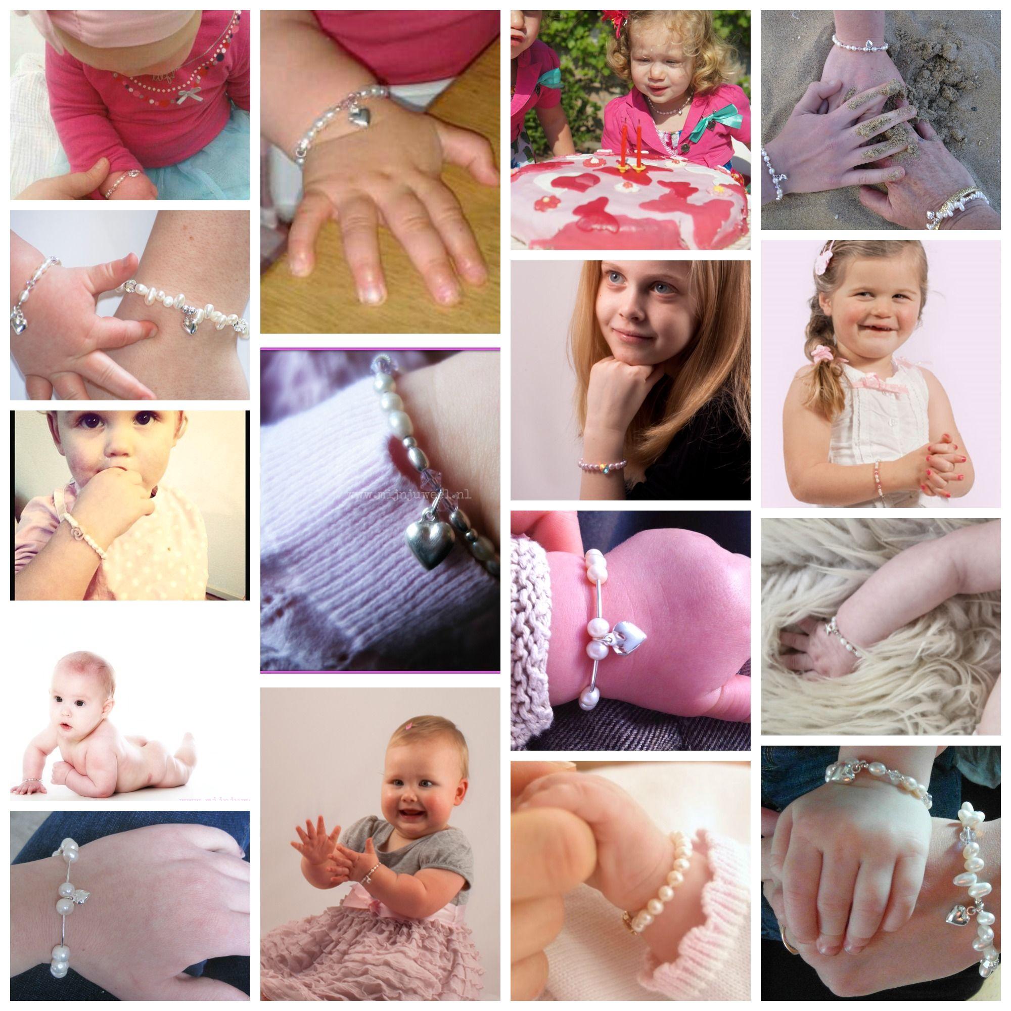 Unieke kindjes met unieke kindersieraden ♡