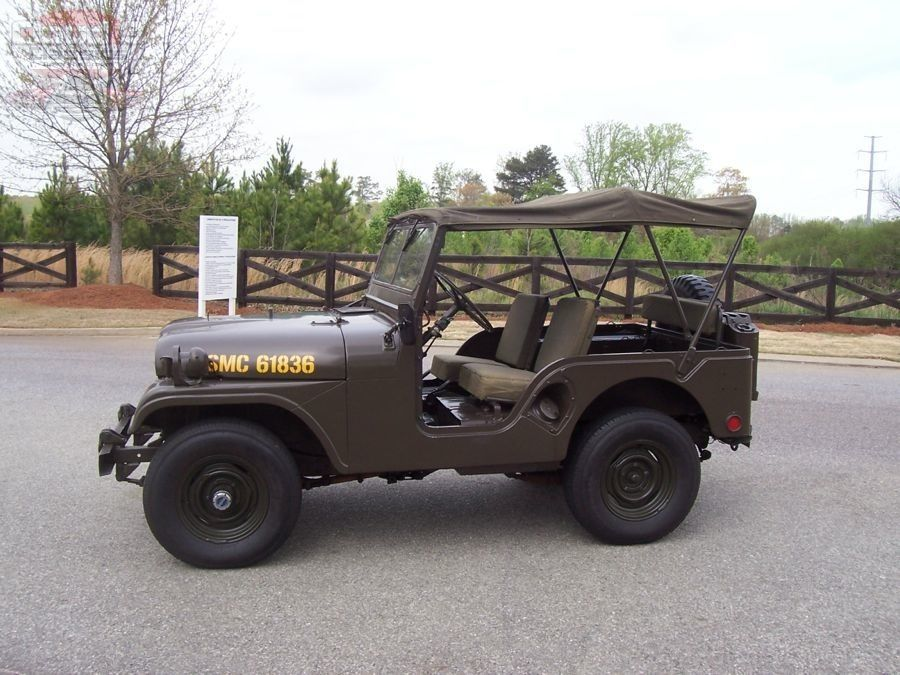 1953 Willys Military Jeep Sold Cloud9 Classics Military Jeep