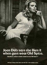 Old Spice 1970s - Old Spice began targeting women to convince men to buy their body washes since the mid-1900s. Clearly it has been working for them!