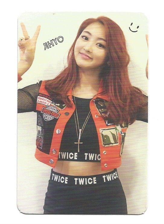 TWICE 1st Mini Album The Story Begins Photocard Kpop TYPE RED Jihyo