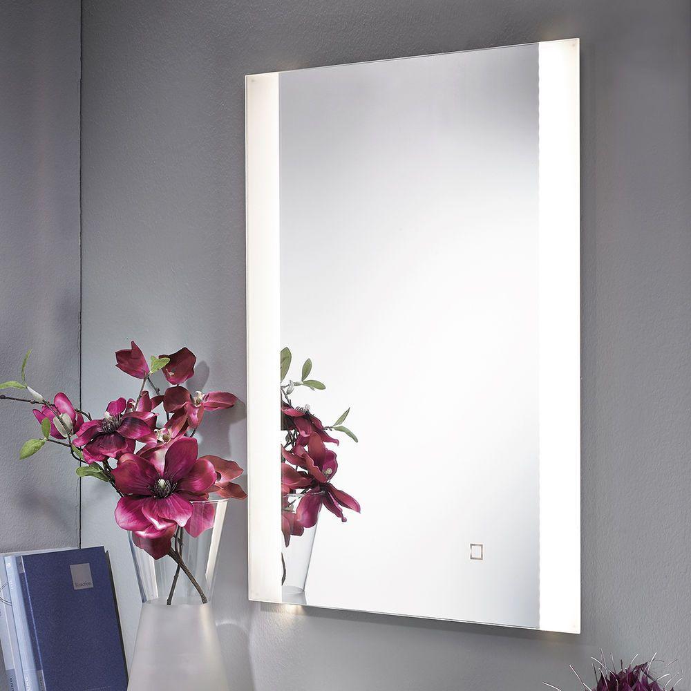 Badezimmerspiegel mit led beleuchtung  Spiegel mit LED Beleuchtung 70 x 56 cm beleuchtet Badspiegel ...