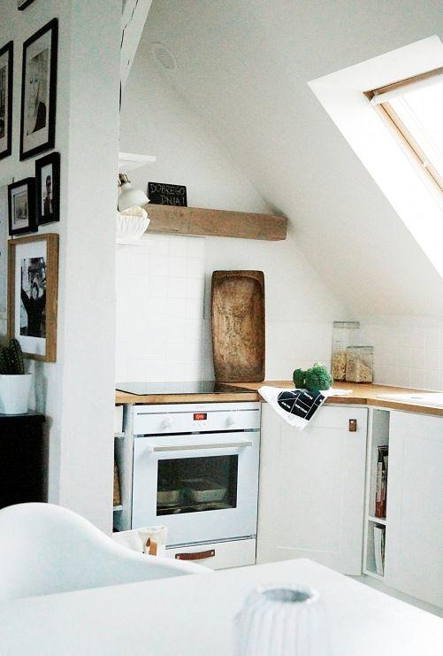 Wpis Polska Aranzacja W Bieli Czerni I Czerwonej Cegle Czyli Wygodne Ikea Kitchen Design Kitchen Ideals Interior Architecture Design