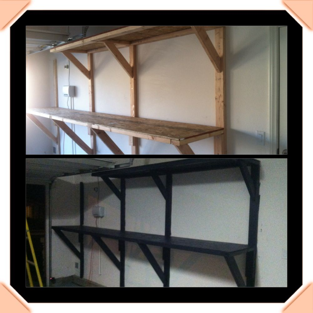 DIY garage shelving or bar counter...made by Brad | For the Home ...