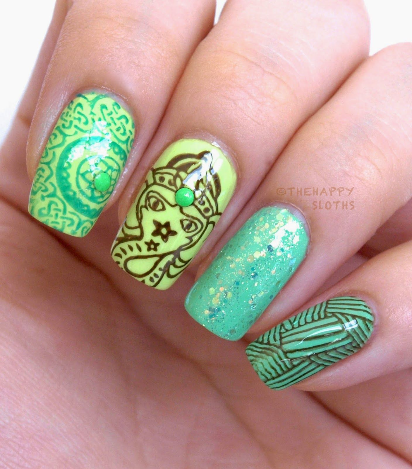 MoYou London Explorer Stamping Nail Art Plate Collection #07: Review ...