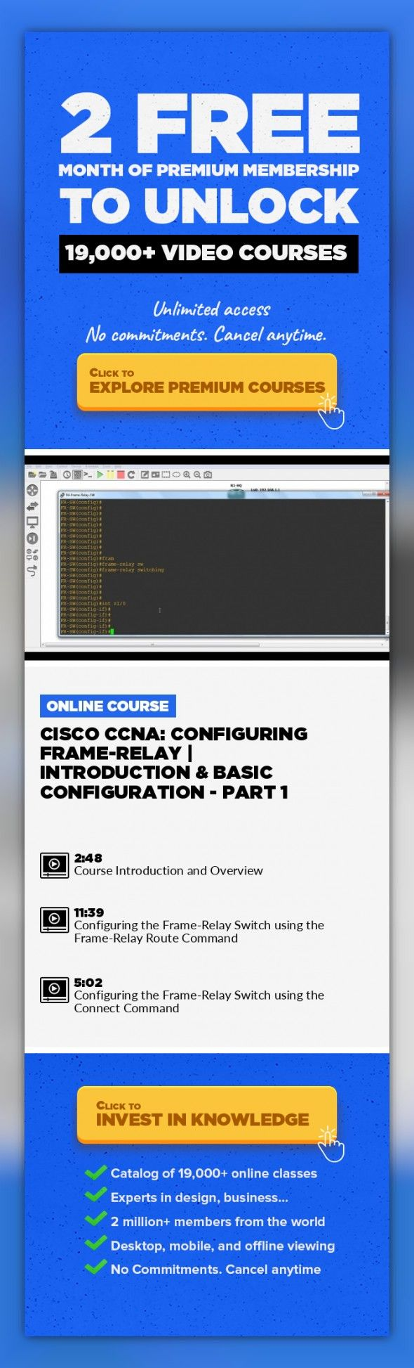 Cisco CCNA: Configuring Frame-Relay | Introduction & Basic ...