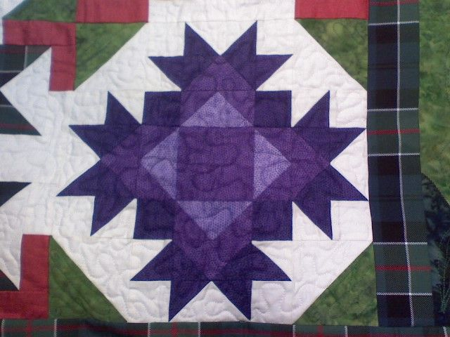 Scotland You Say Thistle Quilt Celtic Quilt Barn Quilts