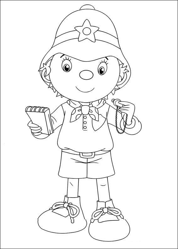 Dibujos para Colorear Noddy 47 | Dibujos para colorear para niños ...