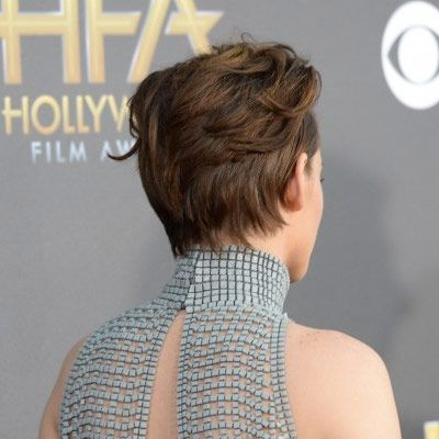 How to Style Short Hair: Kristen Stewart