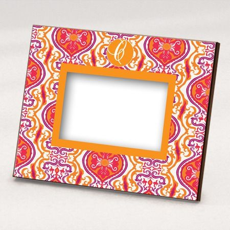 I pinned this Moroccan Picture Frame in Orange and Purple from the Textile Republic event at Joss and Main!