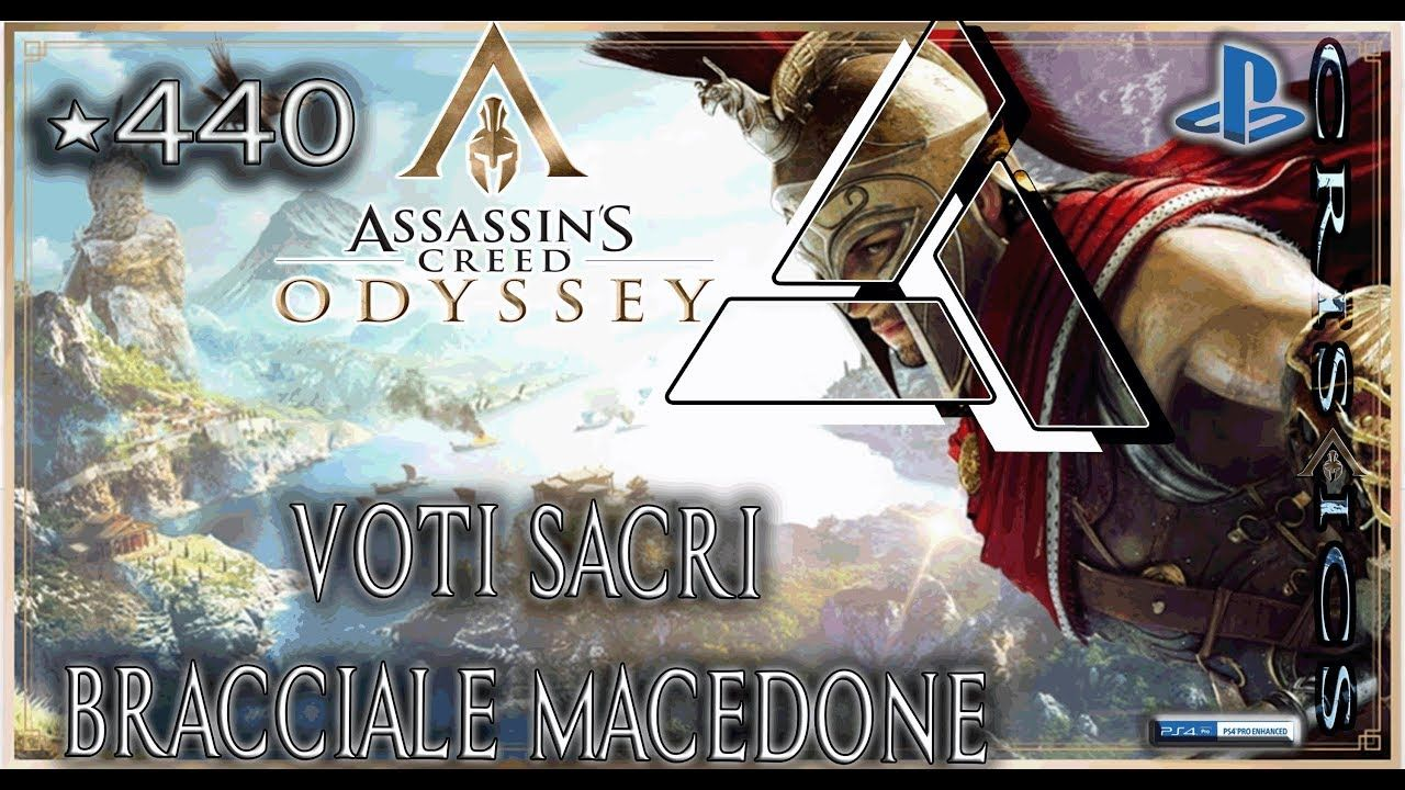 carino economico San Francisco outlet in vendita Assassin's Creed Odyssey VOTI SACRI BRACCIALE MACEDONE 440 I ...