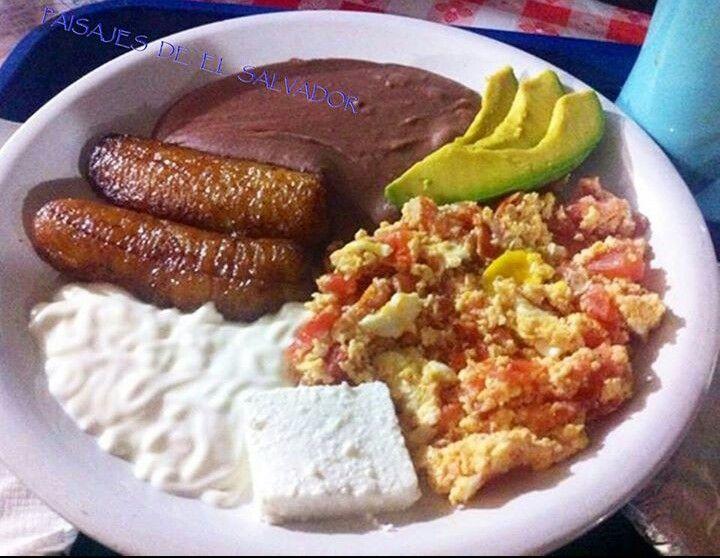 Delicioso Delicious Desayuno Breakfast Salvadorian Food Salvadoran Food Mexican Food Recipes