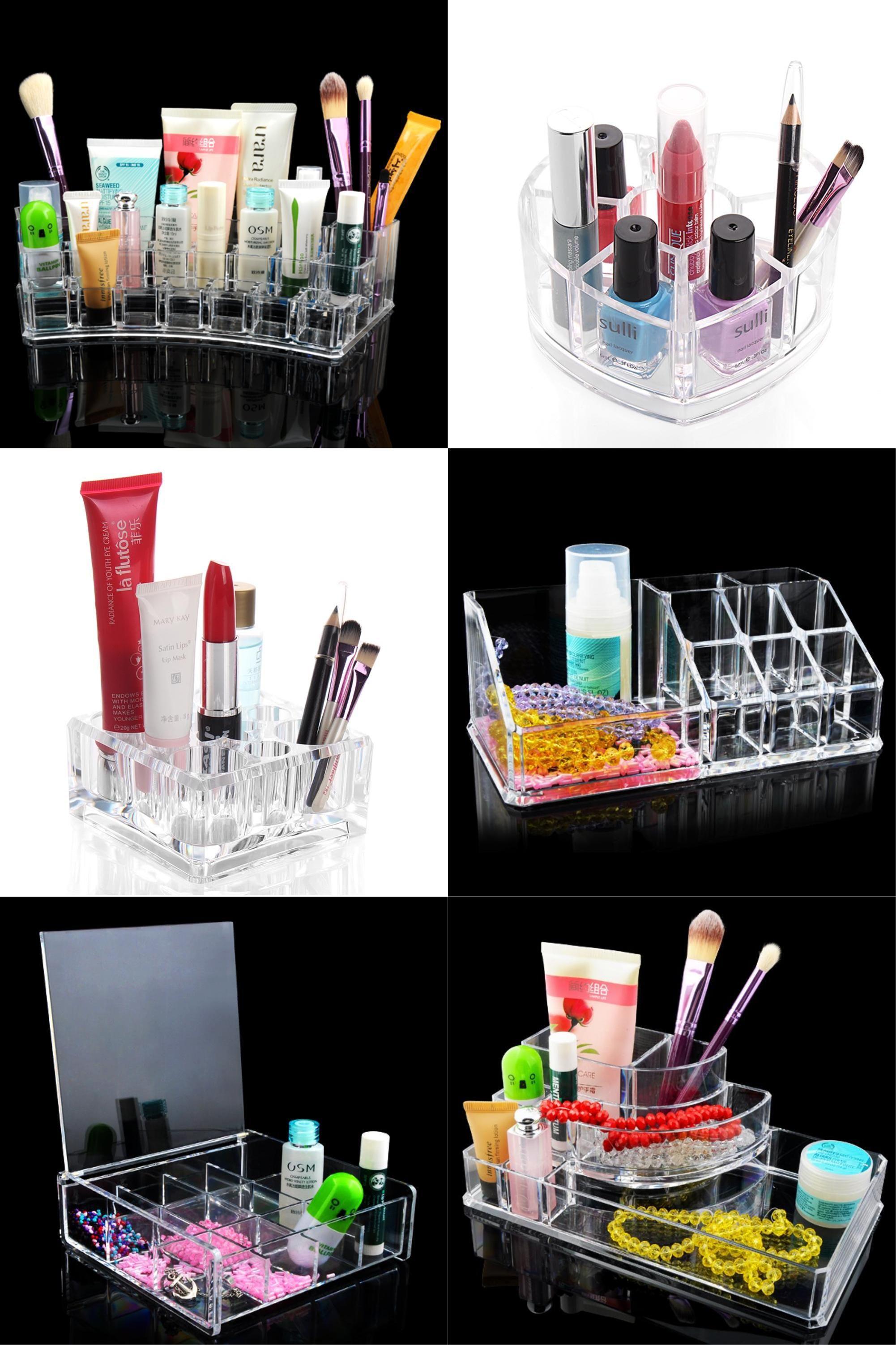 Visit to Buy] Multi-style Organizer Storage Box Make up Display ...