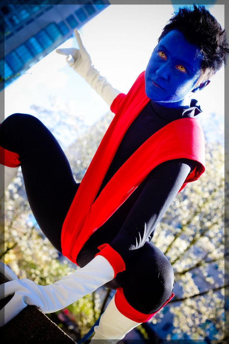 #Cosplay #Mutant: #Nightcrawler - Daylight Demon by twinfools on deviantART