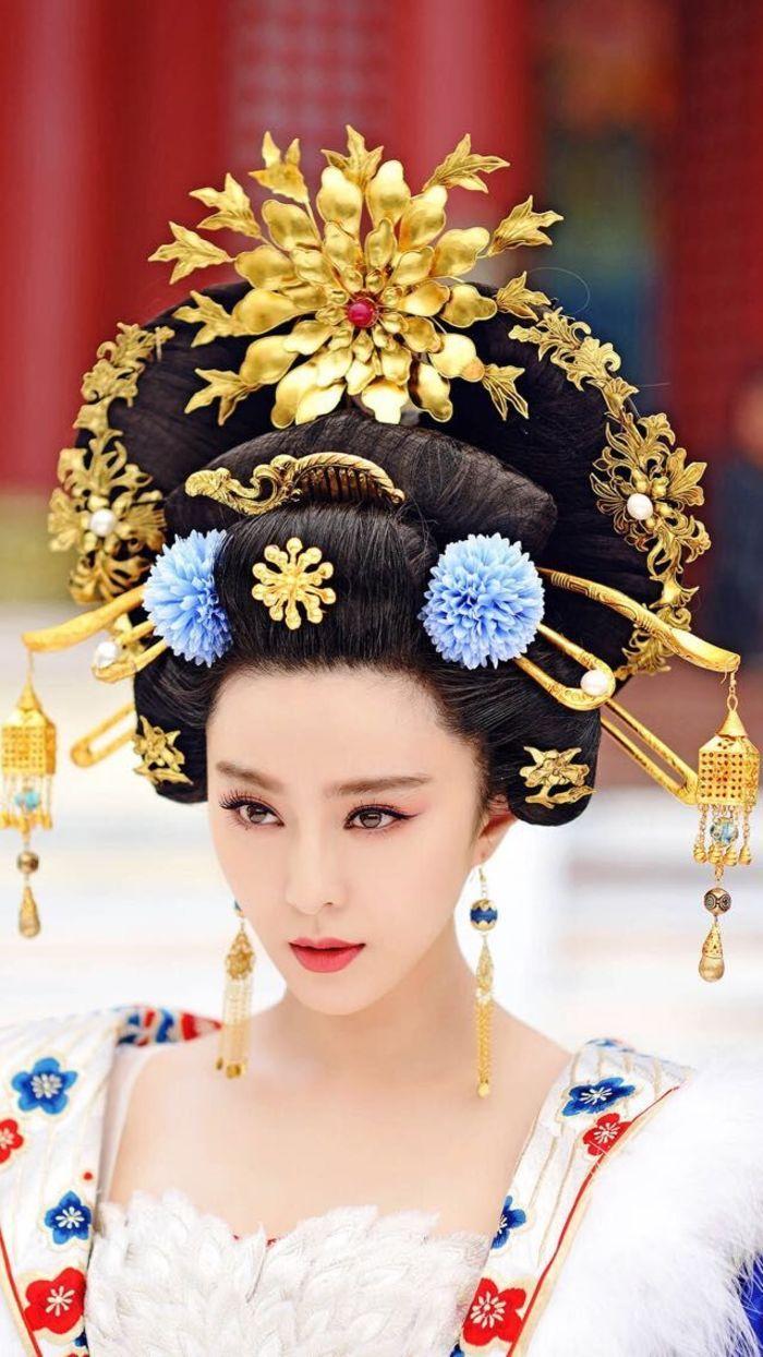 Empress Of China en 2019 Cheveux chinois, Wu zetian et