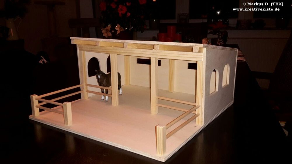 bildergebnis f r pferdestall selber bauen schleich emma diy. Black Bedroom Furniture Sets. Home Design Ideas