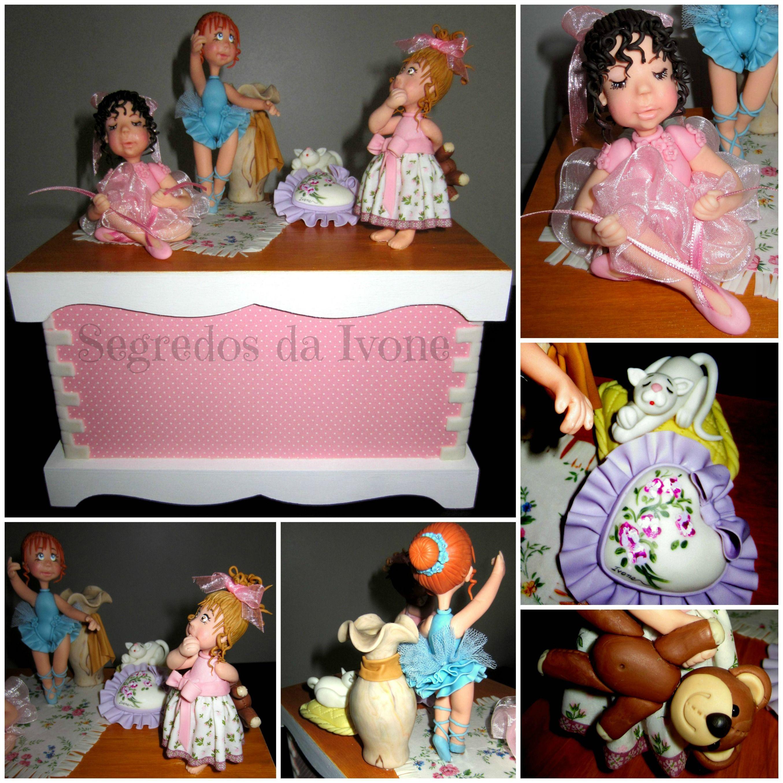 BI25- Caixinha com bonecas
