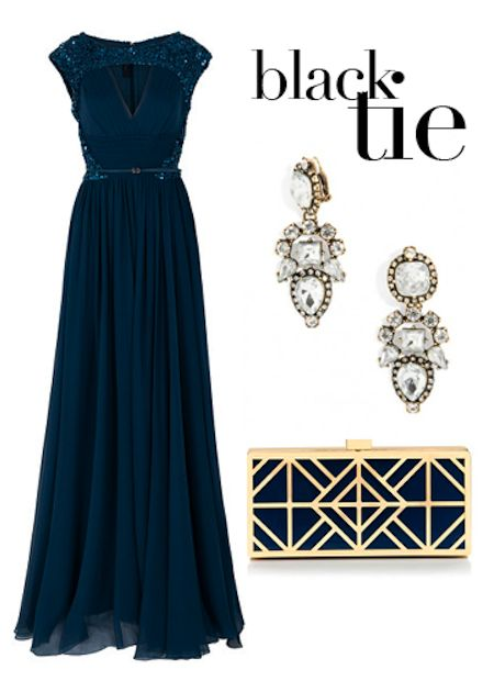 Deciphering The Christmas Party Dress Code Party Dress Codes Gala Attire Black Tie Event Dresses