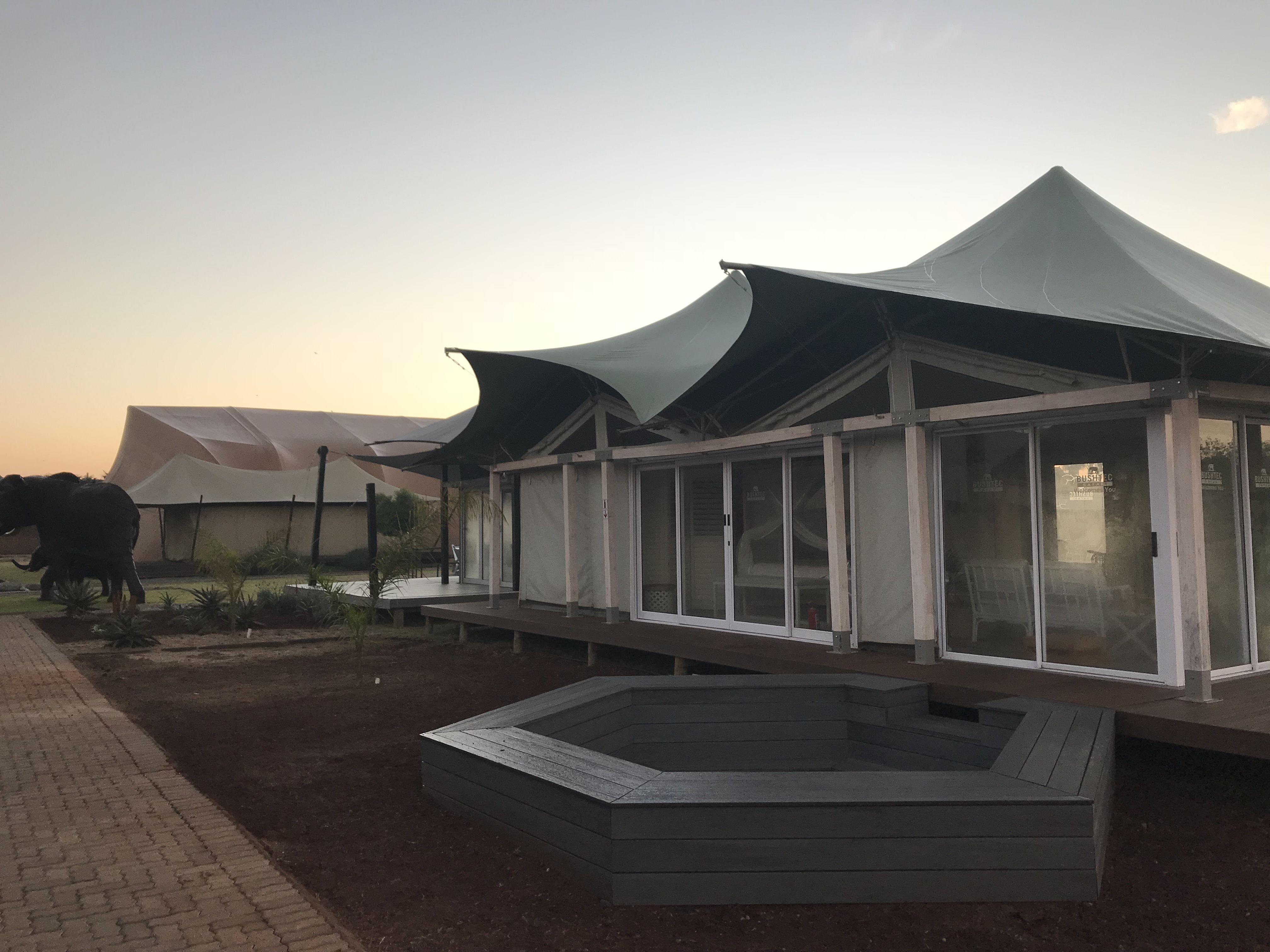 Bushtec Safari tent, Luxury safari, Outdoor structures