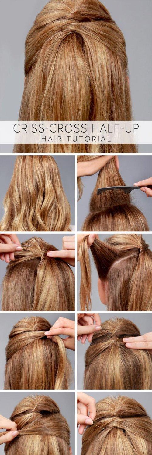 Como hacer un peinado recogido facil