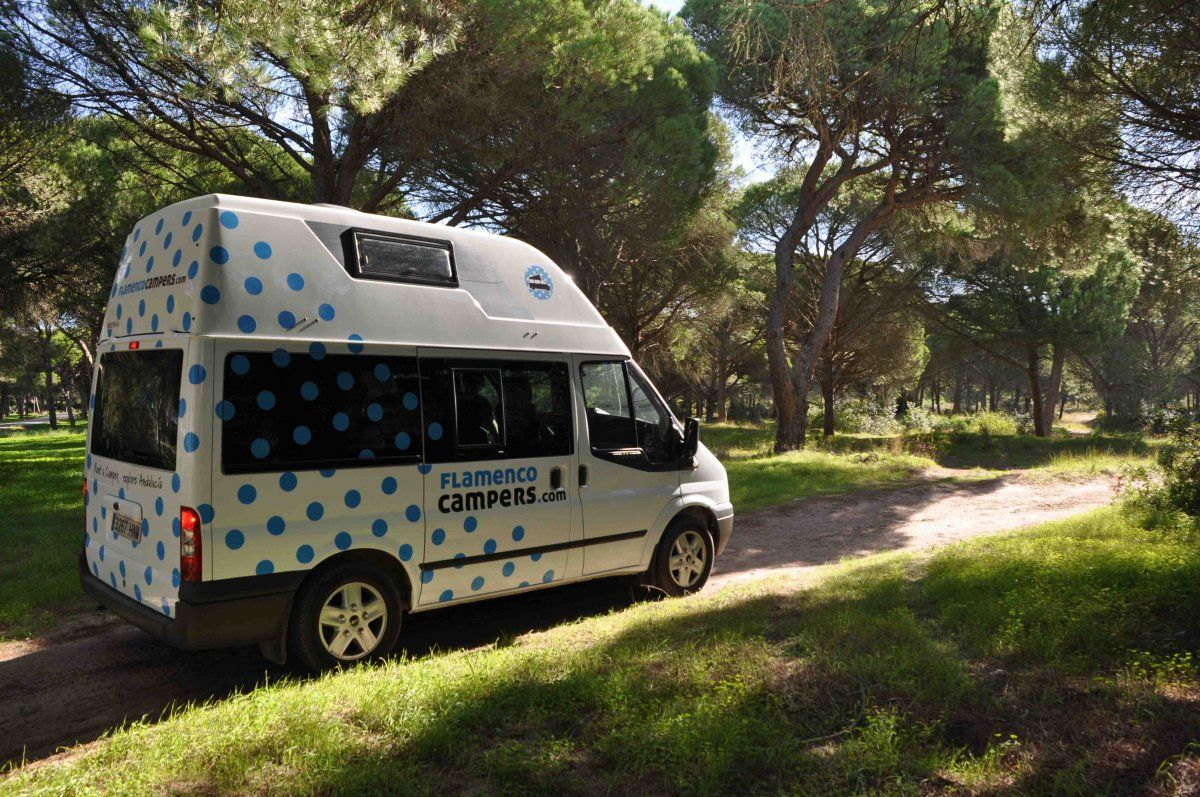 e554d08fa5 Campervan Hire   Rent in Spain. Flamenco Campers