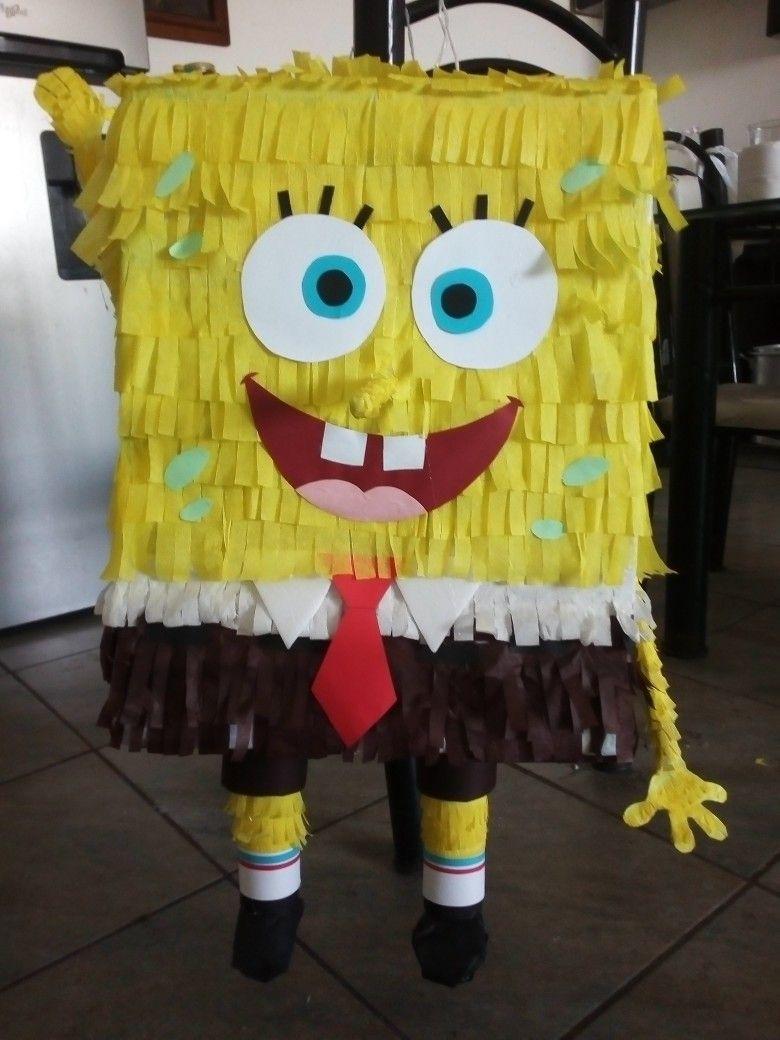 Piñata De Bob Esponja By Yubisela Limón En 2019 Bob