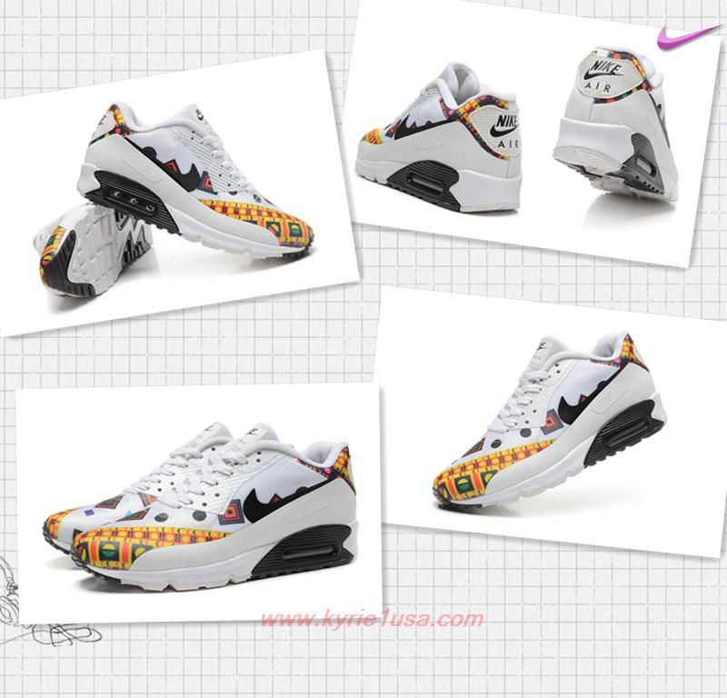reputable site 9323a 0522d White Black Yellow Nike Air Max 90 Hyperfuse PRM 504658-001 Mens-Womens  Outlet Canada TXJVC9
