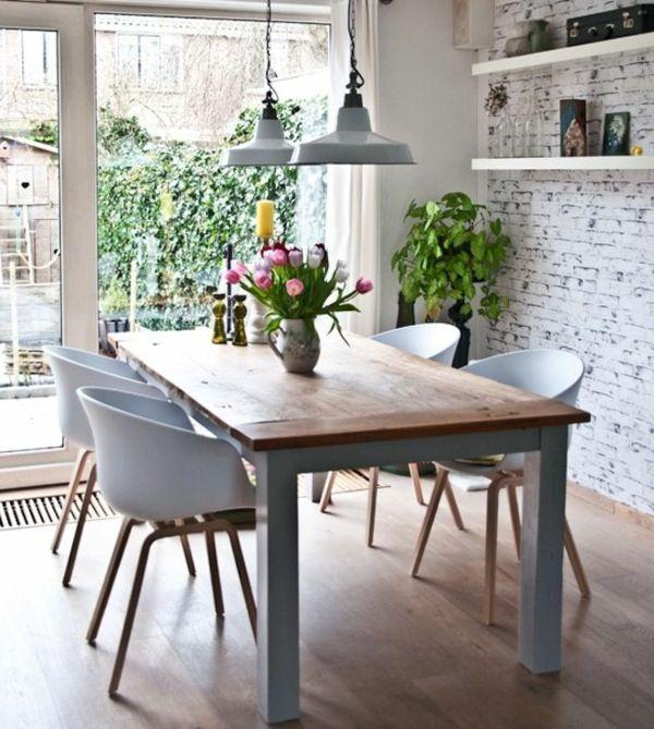 esszimmer interieur esszimmerstühle weiß | wohn-/esszimmer, Esszimmer dekoo