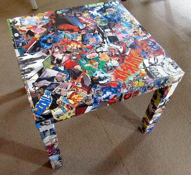 15 comic book crafts using Mod Podge Comic book crafts Book