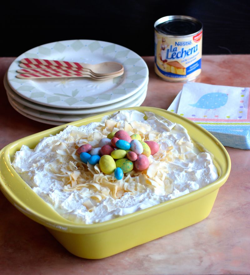 Photo of 'Easy Sweet Condensed Milk and Crackers Dessert' and Giveaway